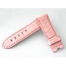 パネライ PANERAI 純正ストラップ 40mm用 Dバックル用 クロコ ピンク