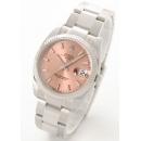 ロレックス Ref.115234 オイスターパーペチュアル デイト WGベゼル ピンク メンズ