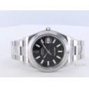 ロレックス Ref.116300 デイトジャストII ブラック メンズ