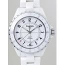 シャネル CHANEL J12 zH2126 42mm GMT ホワイトセラミックブレス 2008年発表モデル 世界限定2000本 ホワイト