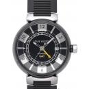 LOUIS VUITTON タンブール イン ブラック オートマティック GMT(Tambour in Black Automatic GMT / Ref.Q113K0)