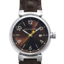 LOUIS VUITTON タンブール クオーツ GMブラウン(Tambour Quartz GM Brown / Ref.Q11115)