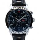 ショパール CHOPARD ミッレミリアGT XL GMTクロノ 自動巻 168992-3001 ブラック 革ベルト