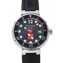 ルイヴィトン タンブールダイビング Q103A ブラック USED 29732