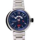 ルイヴィトン タンブール レガッタ Q103D ブルー USED 29601