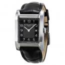 ボーム&メルシエ 腕時計 ハンプトン 10019 ブラック×ブラックレザーベルト