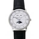 ブランパン ヴィルレ コンプリートカレンダー ムーンフェイズ 6654-1127-55B ホワイト 31093