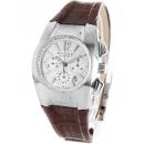 ブルガリ エルゴン クロノグラフ アリゲーターレザー 腕時計 ユニセックス BVLGARI EG35C6SLDCH
