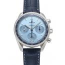 オメガ スピードマスター38 コーアクシャル クロノグラフ 324.38.38.50.03.001 ブルー