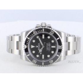 ロレックス Ref.114060 サブマリーナ セラミックベゼル ブラック メンズ