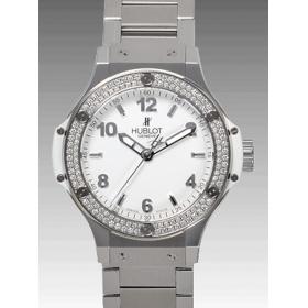 ウブロ ビッグバン スチール ホワイトダイヤモンド 361.SE.2010.SE.1104