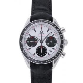 オメガ スピードマスターオートマティック 323.32.40.40.04.001 ホワイト/ブラック