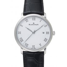 ブランパン ヴィルレ ウルトラスリム 6651-1127-55B ホワイト 22415